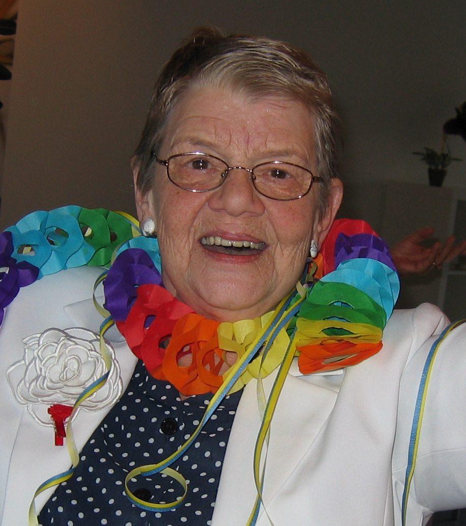 Verjaardag 75 jaar Jacoba in Amsterdam