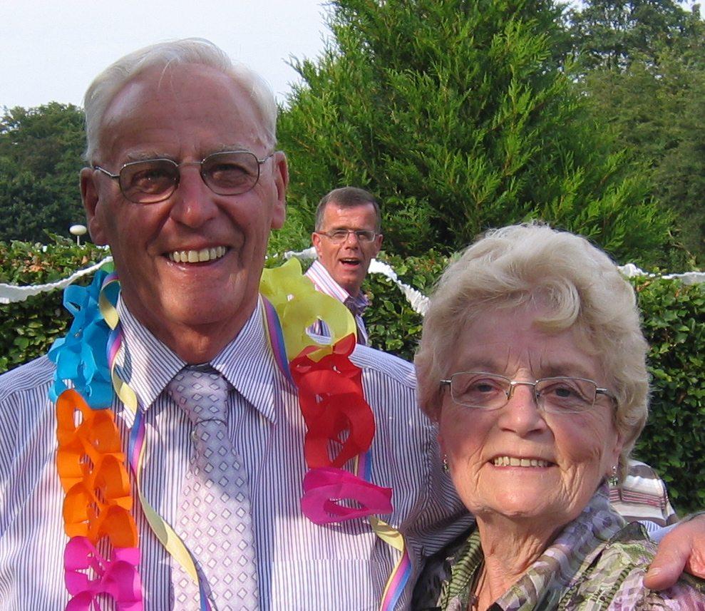 50 jaar getrouwd en een gouden bruiloft!