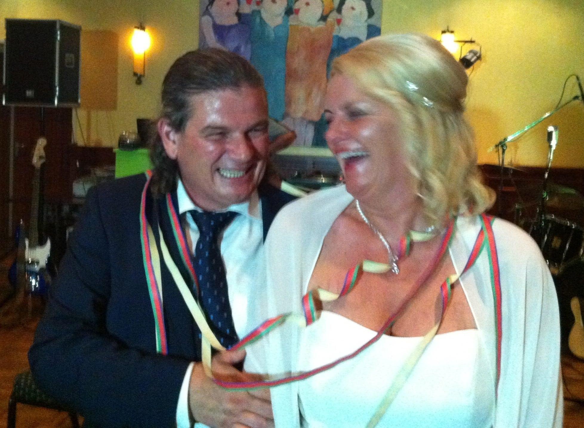 Huwelijk Henk en Laura