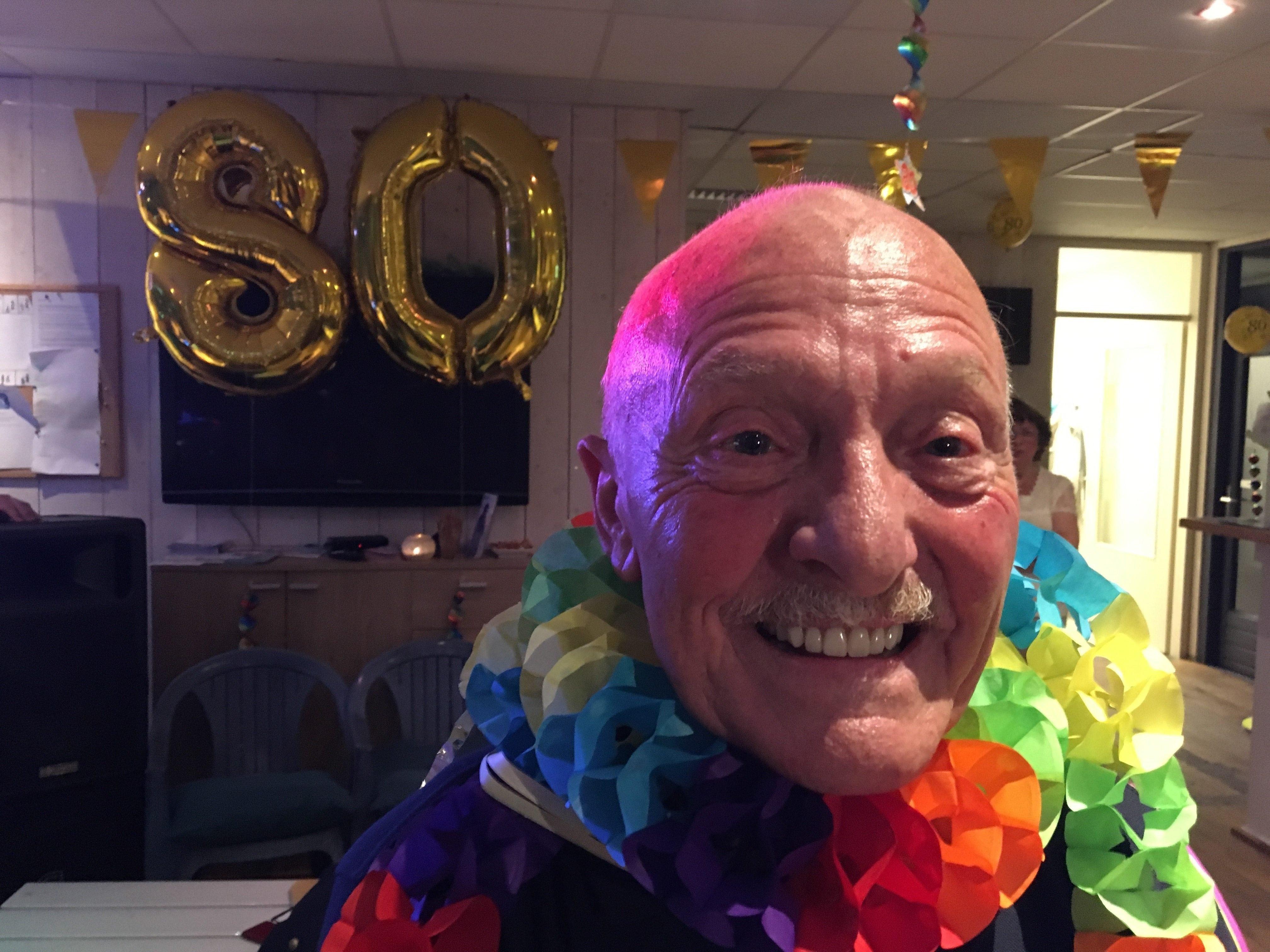 Mathieu 80 jaar verjaardag