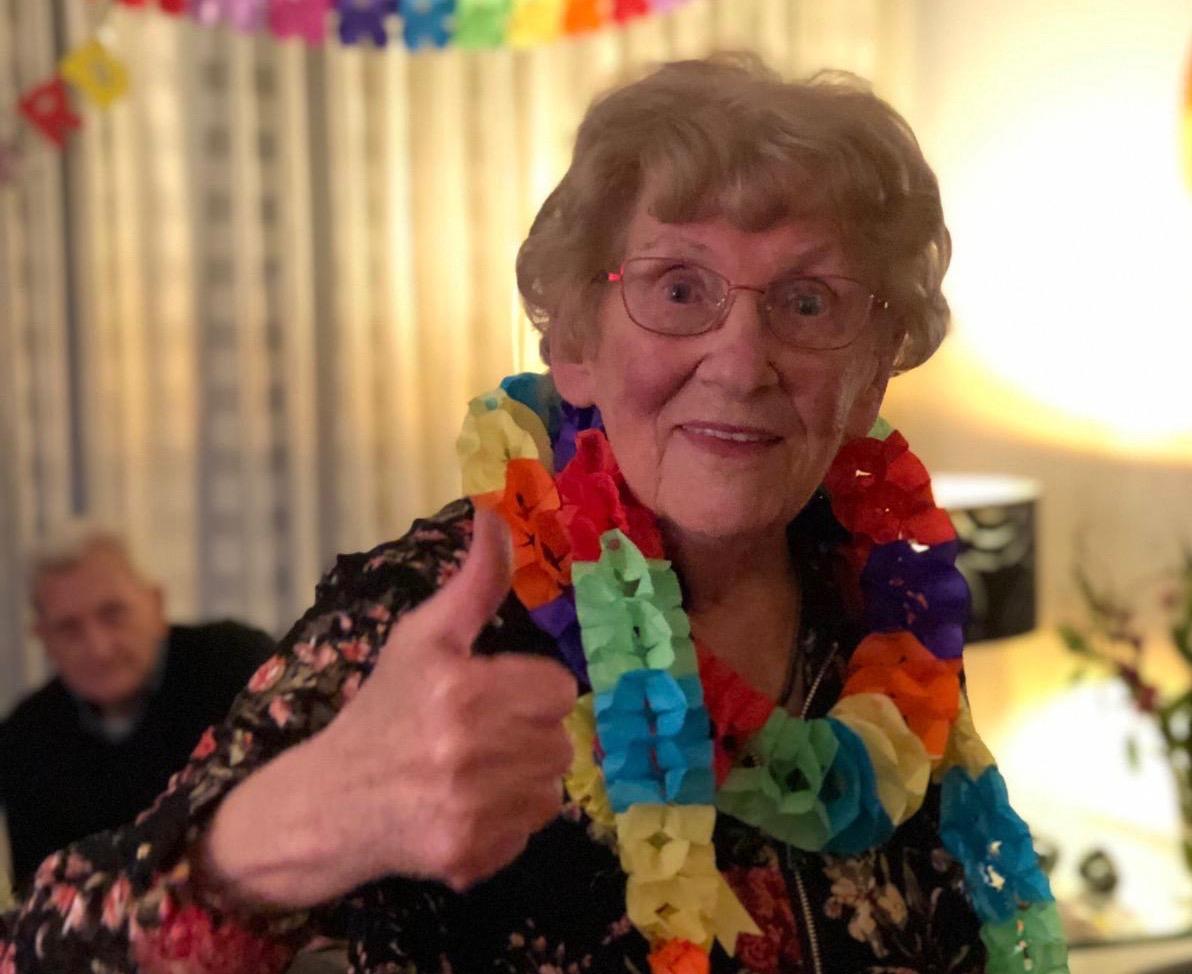 Anny 90 jaar